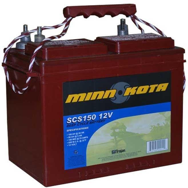 Акб для лодочных электромоторов купить в москве